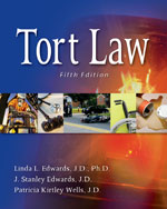 Tort Law, 5th Editio…,9781111312152