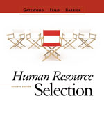 Human Resource Selec…,9780538469944