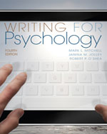 Writing for Psycholo…, 9781111840631