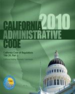 2010 California Admi…,9781580019736