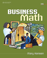 Business Math, 17th …,9780538448734
