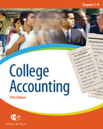 College Accounting, …,9780324382488