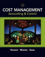 Cost Management: Acc…,9780324559675