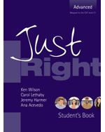 Just Right - Advance…,9780462098913