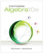 Intermediate Algebra…,9781285195728
