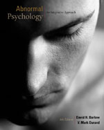 Abnormal Psychology:…