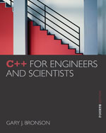 C++ for Engineers an…,9781133187844