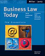 Business Law Today: …,9780324204841