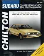 Subaru Coupes, Sedan…,9780801987908
