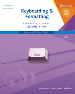 Keyboarding & Format…,9780538729802