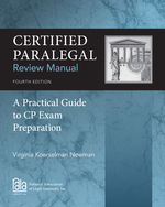 Certified Paralegal …,9781285162584