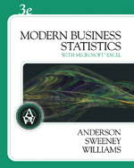 Modern Business Stat…,9780324598278