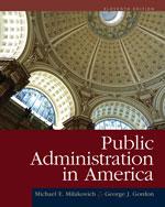 Public Administratio…, 9781111828011