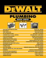 DEWALT® Plumbing Qui…,9781111135881