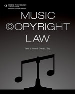 Music Copyright Law,…,9781435459724