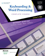 Keyboarding & Word P…,9780538730273