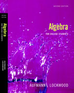 Algebra for College …,9780618824946