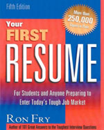 Your First Resume, 5…,9781564145833