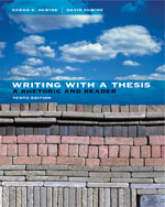 Writing with a Thesi…, 9781413030822