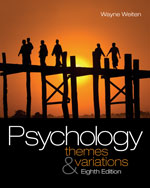 Psychology: Themes a…,9780495601975