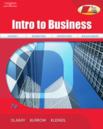 Intro to Business, 7…, 9780538445610