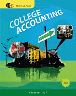 College Accounting, …,9780538745192