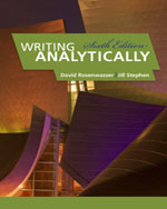Writing Analytically…