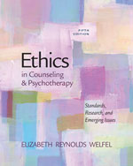 Ethics in Counseling…, 9780840028587