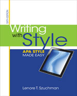 Writing with Style: APA Style Made Easy, 6th Edition
