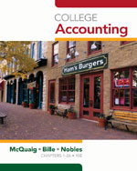College Accounting, …,9781439038789