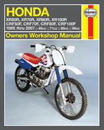 Honda XR50R-XR100R, …, 9781563926570