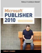 Microsoft® Publisher…,9780538475983