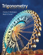 Trigonometry, 7th Ed…,9781111826857
