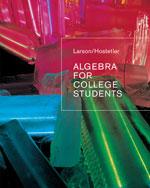 Algebra for College …,9780618388455