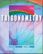 Trigonometry (with C…,9780534403928