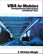 VBA for Modelers: De…,9780534380120