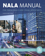 NALA Manual for Para…, 9781133591863