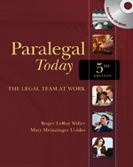 Paralegal Today: The…, 9781439057018