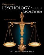 Wrightsman's Psychol…, 9780495813019