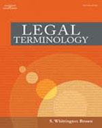 Legal Terminology  ,…,9781401820121