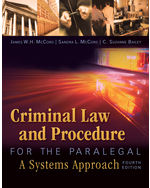 Criminal Law and Pro…,9781435440166