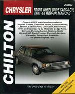 Chrysler Front-Wheel…,9780801986734