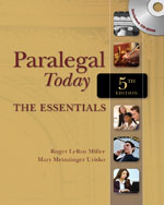 Paralegal Today: The…, 9781435498556