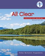 All Clear 1: Listeni…, 9781413017038