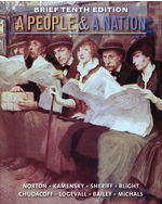 A People and a Natio…,9781285430843