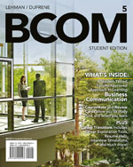 Bundle: BCOM (with C…,9781285714745