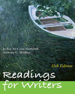 Readings for Writers…,9781428231283