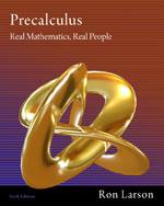 Precalculus: Real Ma…, 9781111427634