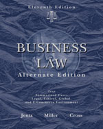 Business Law, Altern…,9780324596168