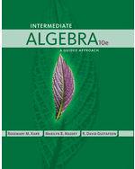 Intermediate Algebra…,9781435462502